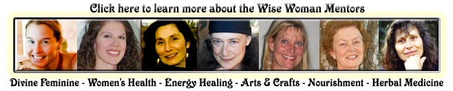 Wise Woman University - distance learning online courses - divine feminine - womens health - energy healing - herbal medicine